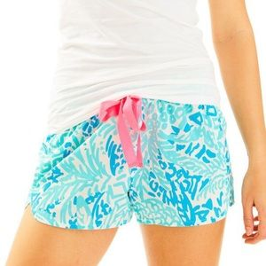 Lilly Pulitzer Home Slice PJ Shorts